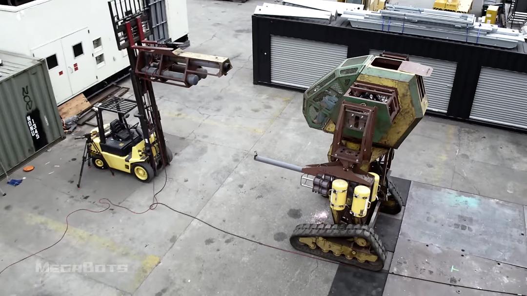 MegaBots webserie - Planete Robots