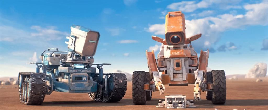 Planet Unknown, un court métrage qui met en scène 2 robots