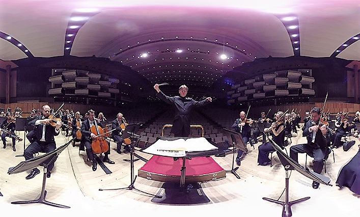 La réalité virtuelle au cœur d'un orchestre
