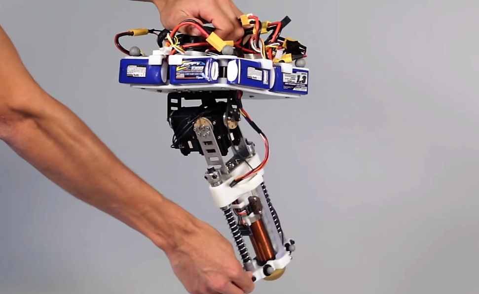 Hopping Robot Disney - Planete Robots