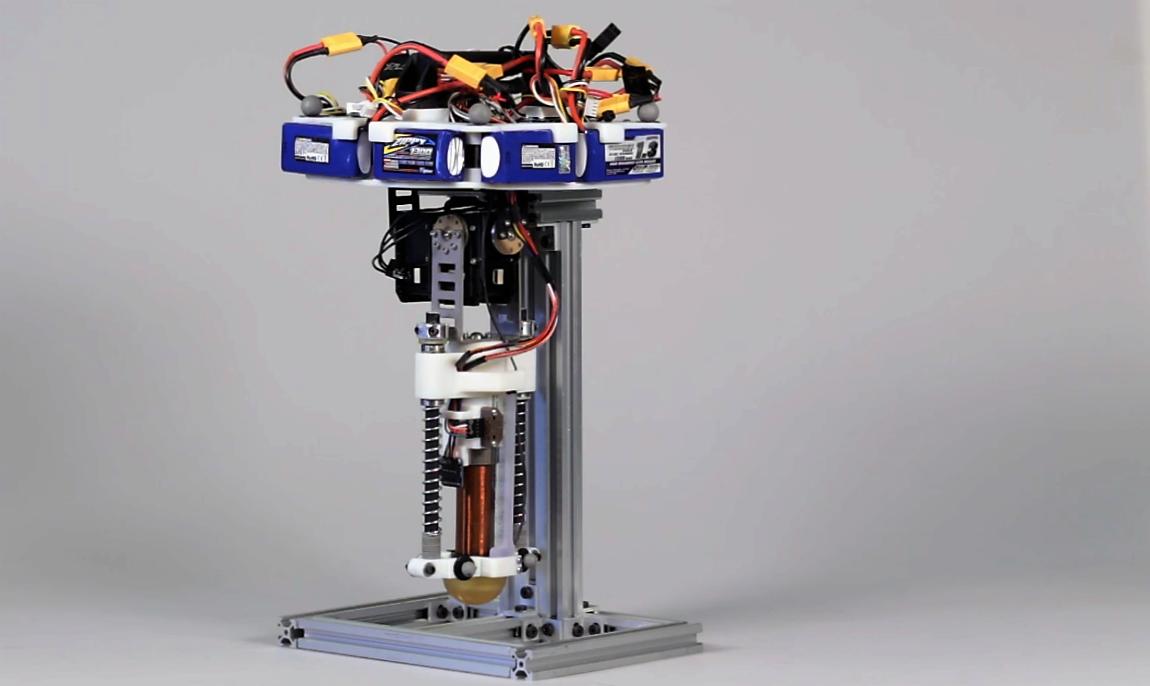 Hopping Robot, le nouveau robot de Disney sautillant !