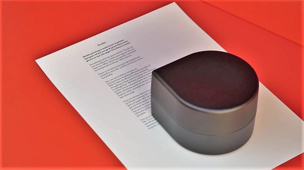 ZUtA, un robot imprimante portable