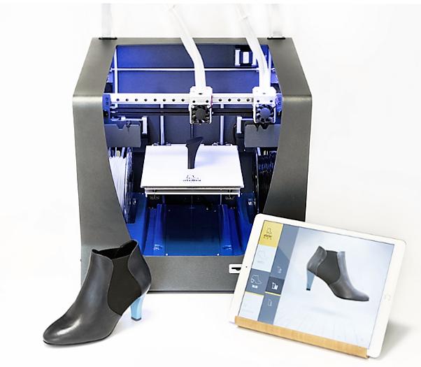 Des modèles uniques de talon grâce à l'impression 3D