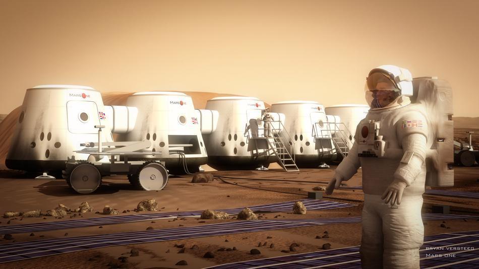 [Sondage] Vivre sur Mars, ça vous dit ?