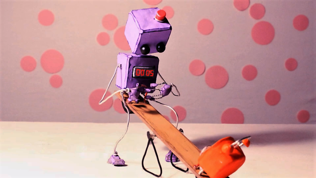Animations avec un robot en Stop Motion