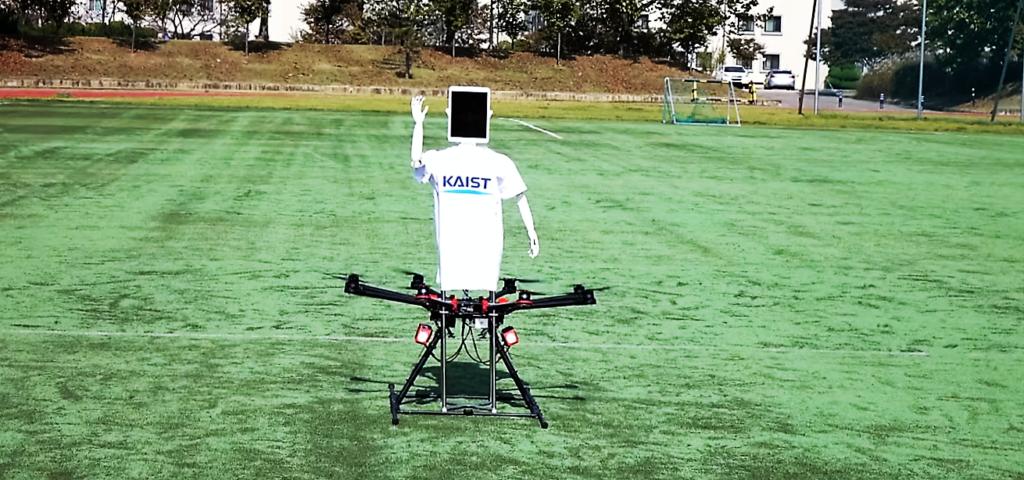 Robot Drone Man, un drone avatar !