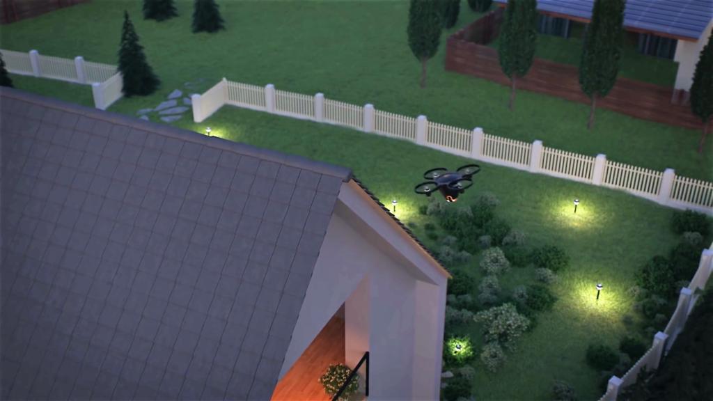 Un drone pour surveiller votre maison