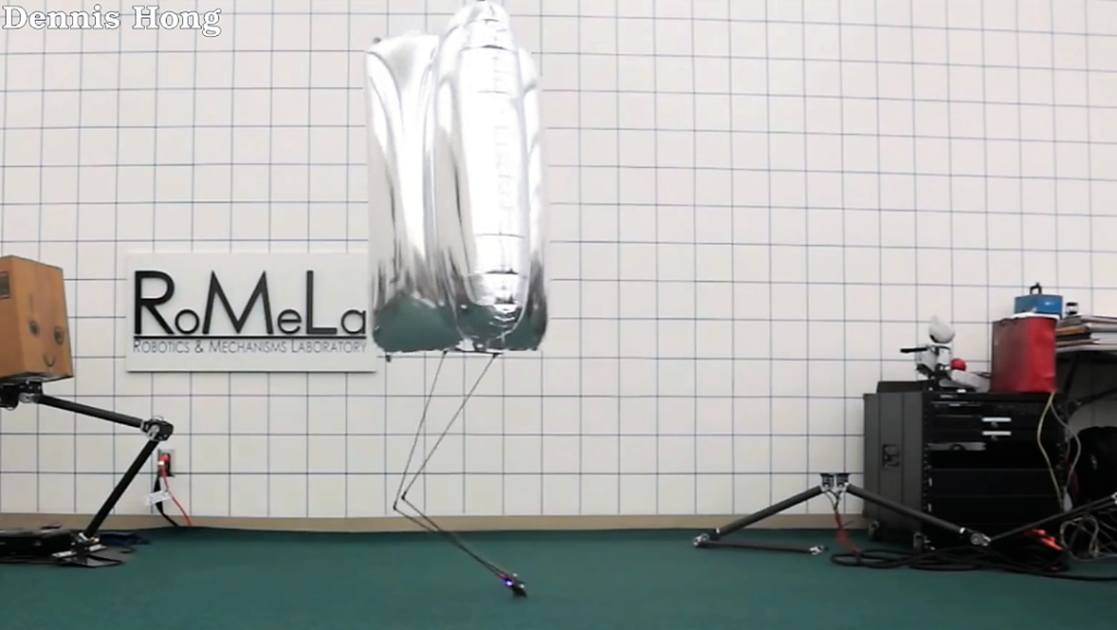 BALLU, un robot super léger qui ne tombe jamais !
