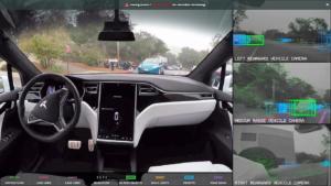 Tesla self-driving - Planete Robots