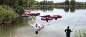 drone-hamac - Planete Robots