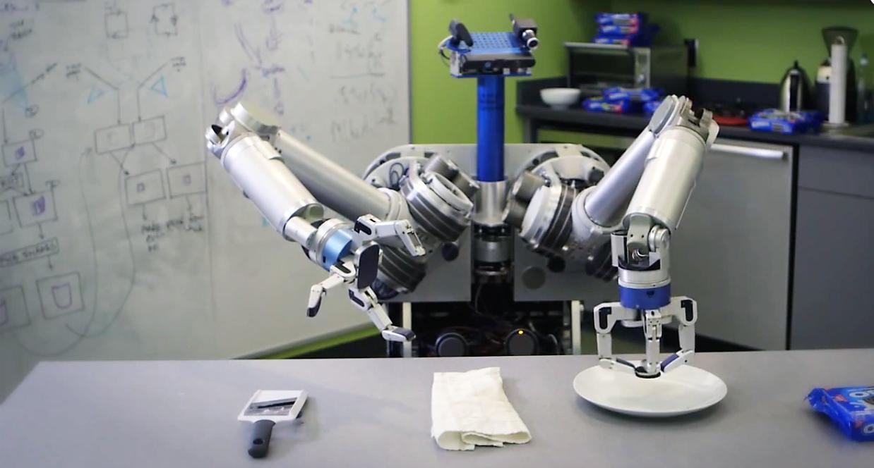 HERB, un robot majordome qui fait du théâtre !