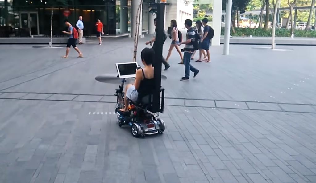 Un scooter autonome au cœur du MIT