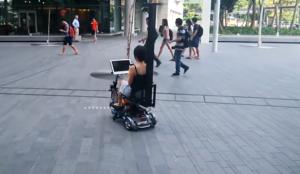 scooter autonome - Planete Robots