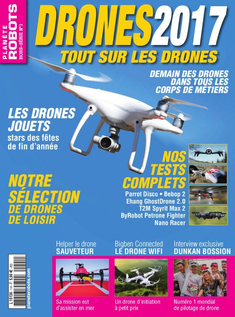 Drones 2017 HS1 Planete Robots