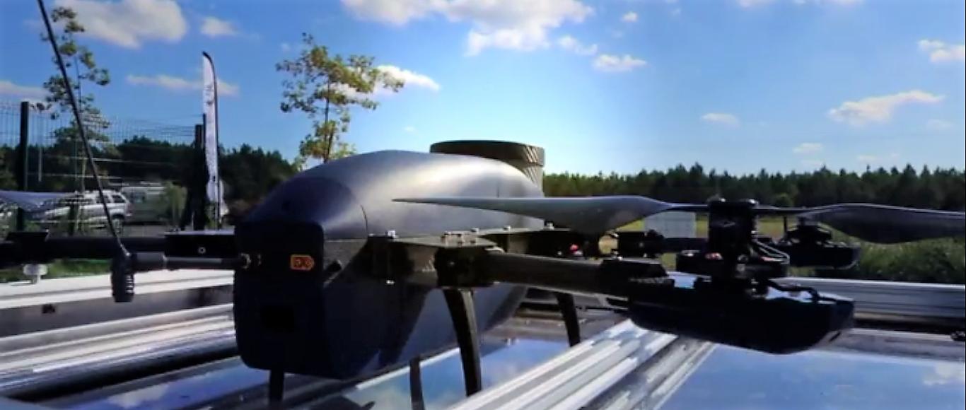 Des agents de sécurité suppléés par des drones