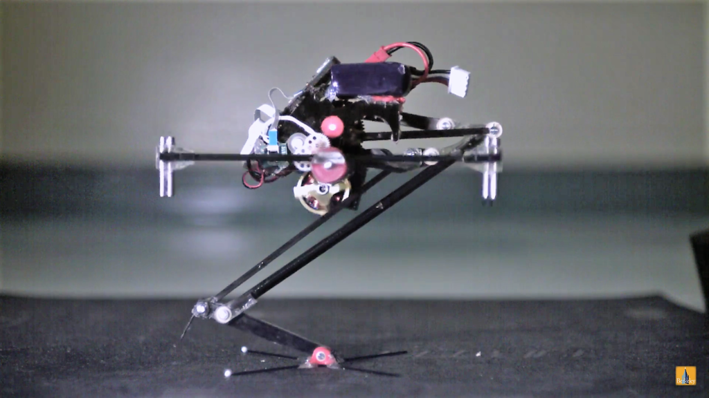 SALTO, un petit robot qui saute pour sauver des vies