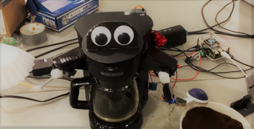 Un robot pour faire le café