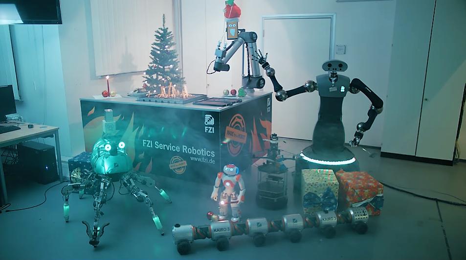 [Vidéo] Lorsque plusieurs robots s'unissent pour faire des cookies !