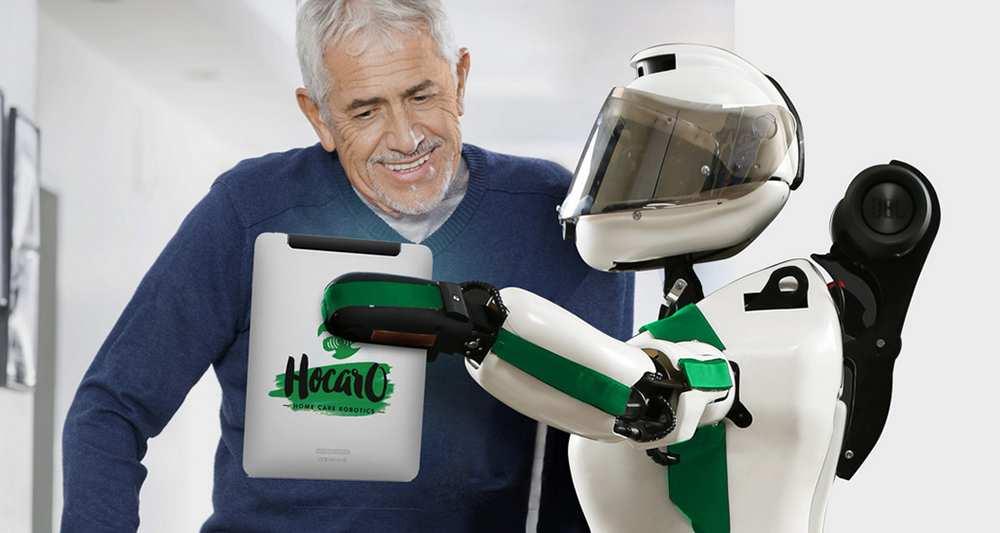 Zeli, une robote au service des papis et des mamies