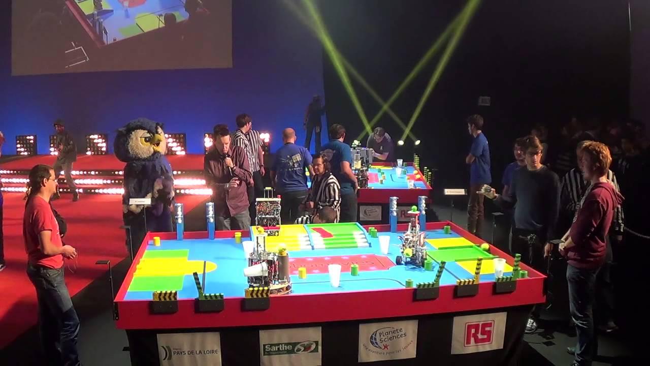 Compétition entre robots