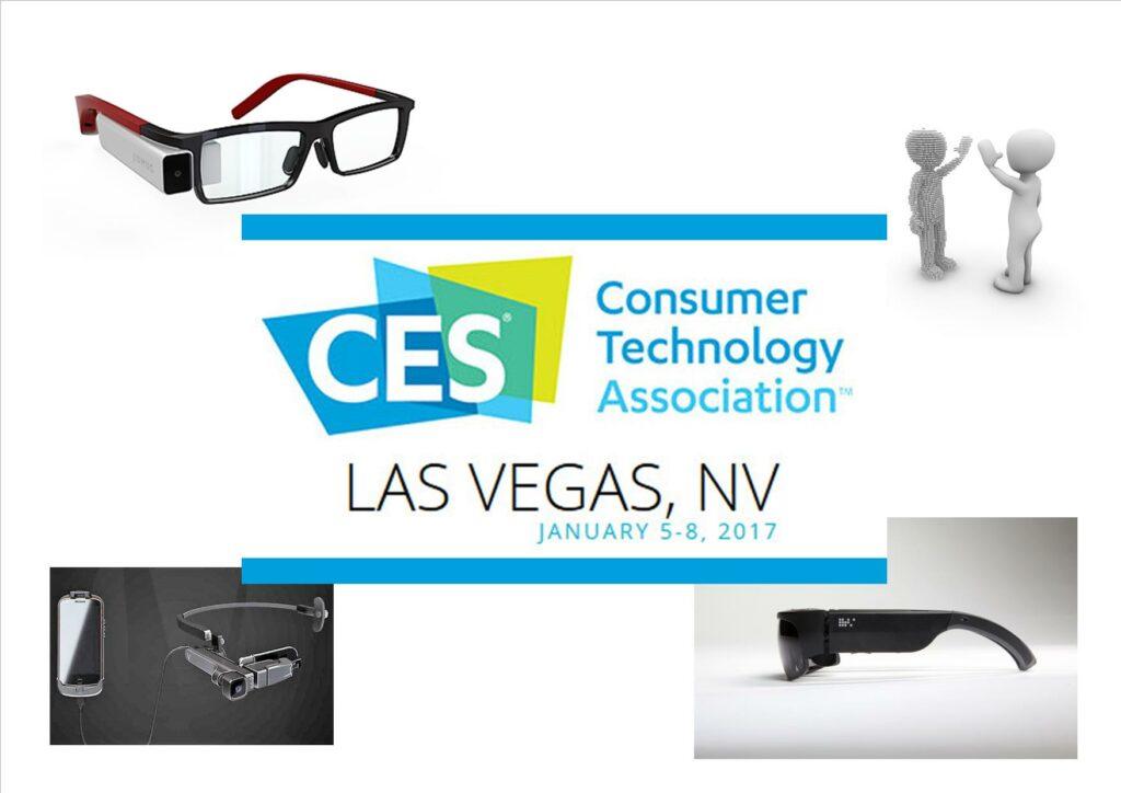 [CES 2017] 3 nouveaux modèles de lunettes connectées ou de réalité augmentée
