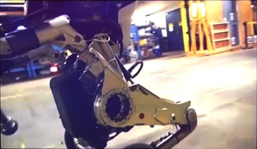 Détail du Atlas à 2 roues
