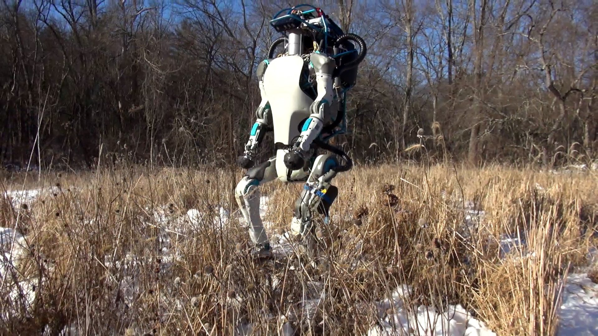Photo du robot humanoïde Atlas de Boston Dynamics