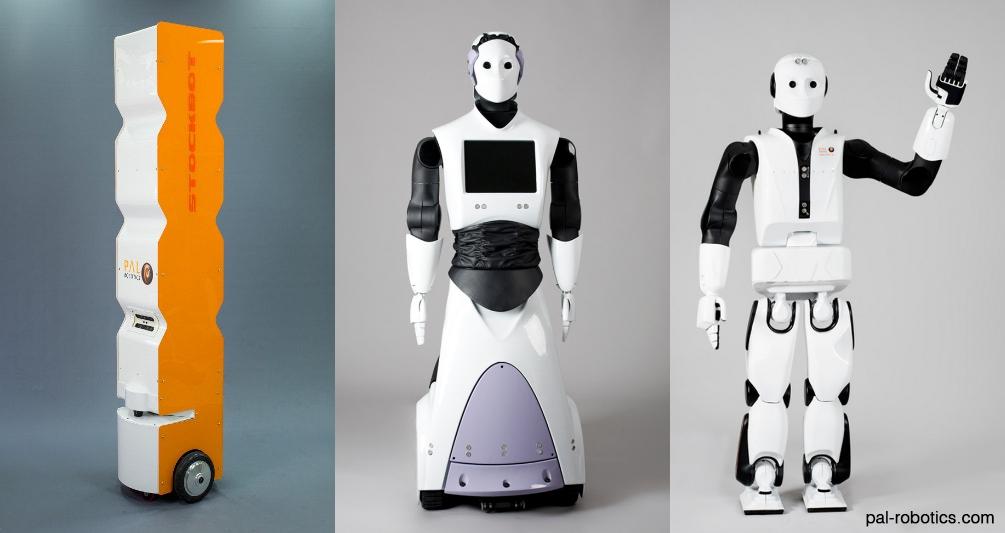 Pyrène un robot humanoïde pour servir les humains