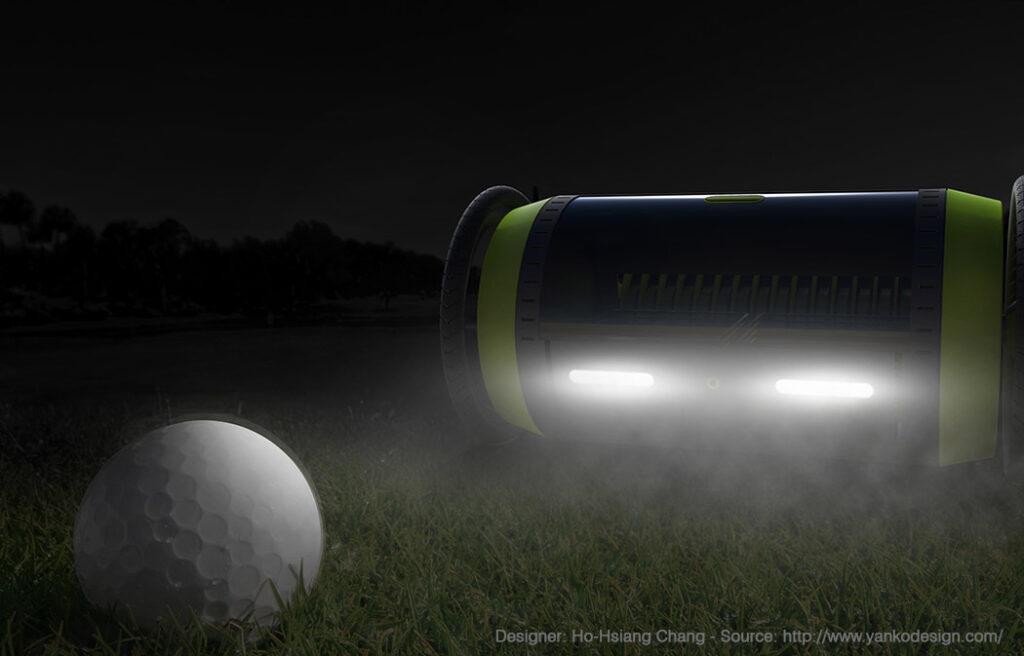 Golf Pro travaille jour et nuit