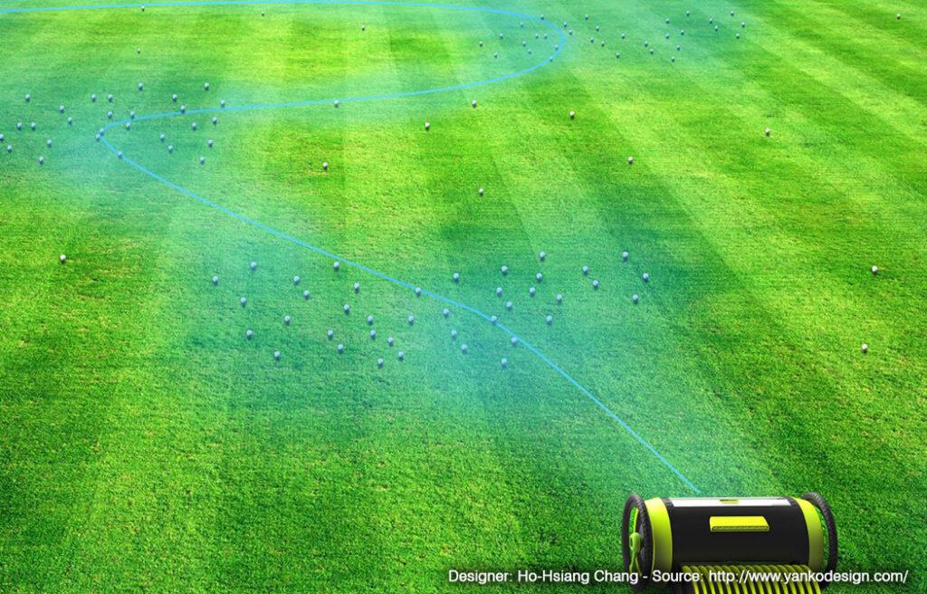 Golf Pro reconnaît les positions des balles