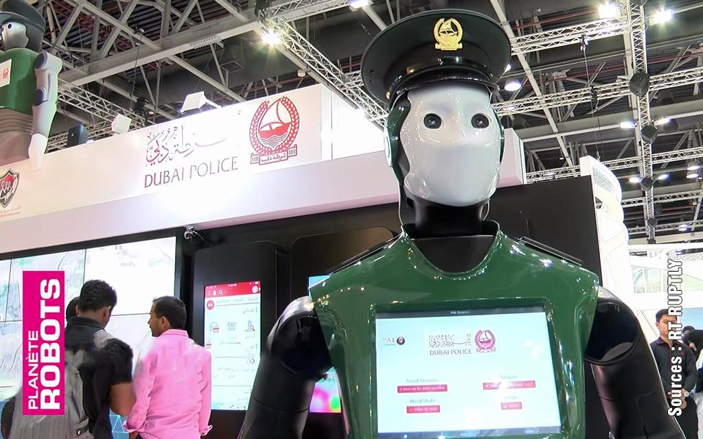 Des robocops dans les lieux publics à Dubaï cette année