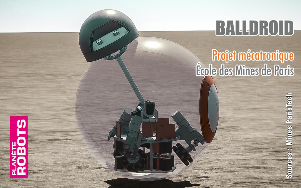 Balldroïd pour réaliser un BB-8