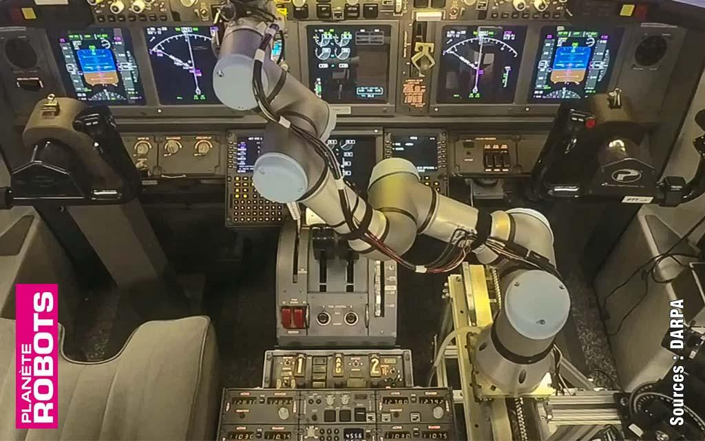 Y a-t-il un robot dans l'avion ?