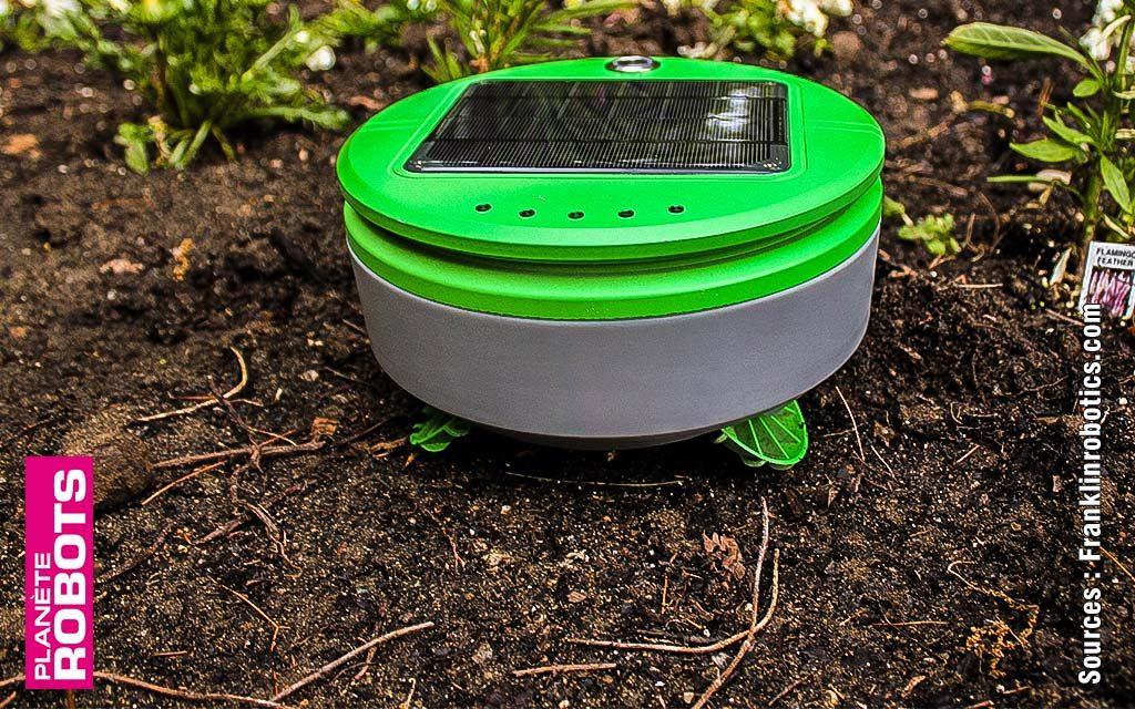 Un robot vert pour les jardiniers geeks
