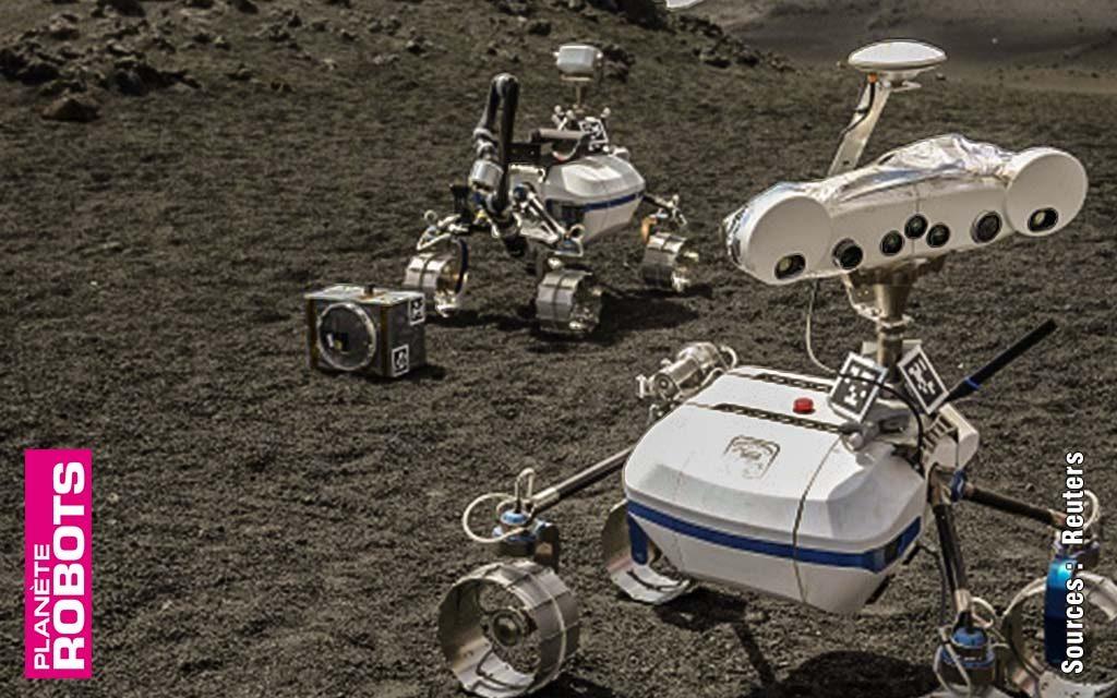 Tests robotiques sur l'Etna