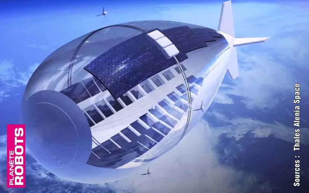 Stratobus un concept de drone sans aile