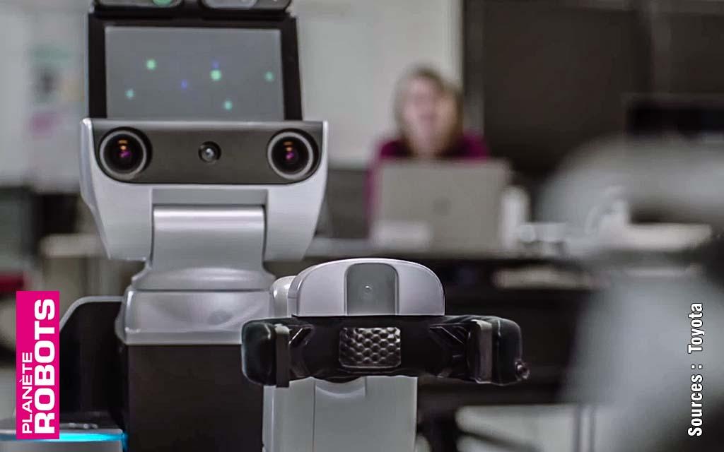 Toyota teste un robot d'assistance aux personnes handicapées