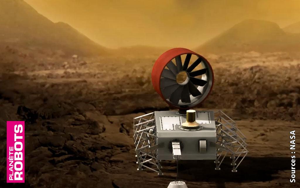 La micro-mécanique au secours des robots explorateurs