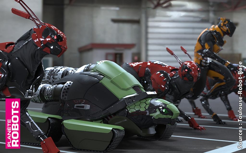 Samedi 23 septembre à Toulouse, les robots sont dans les starting-blocks !