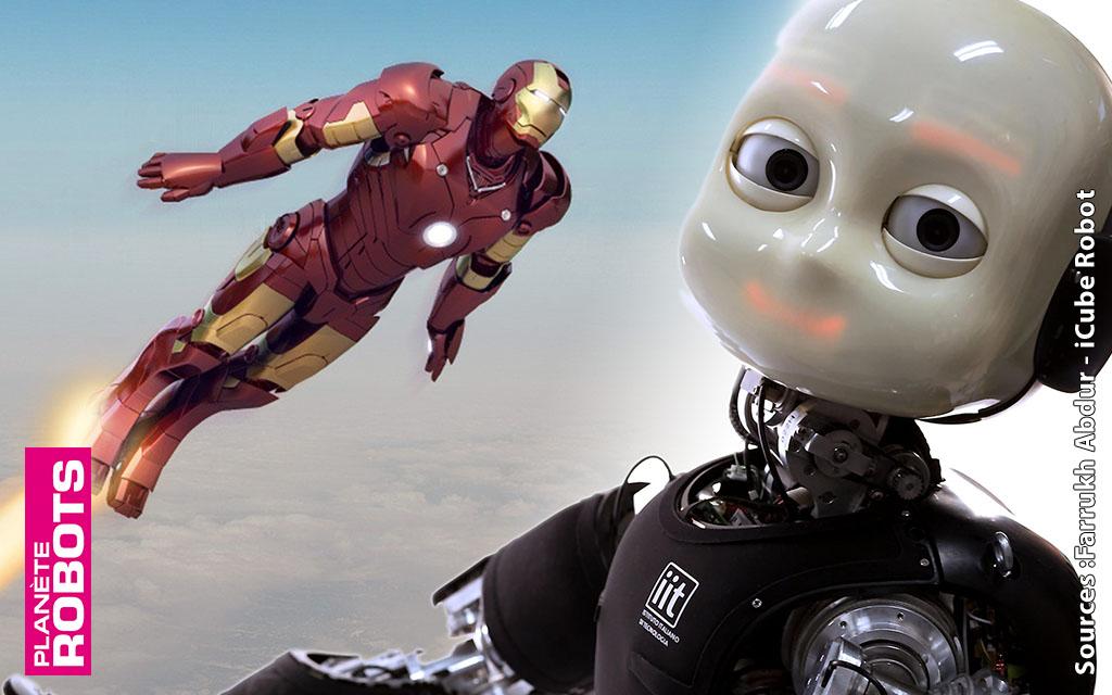 Donner les aptitudes de vol d'Iron Man à un robot humanoïde !