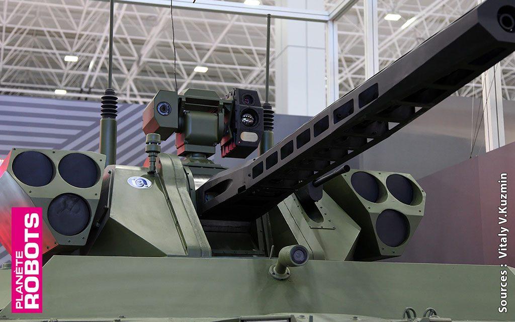 Un robot tank russe pilotable à 50 km de distance