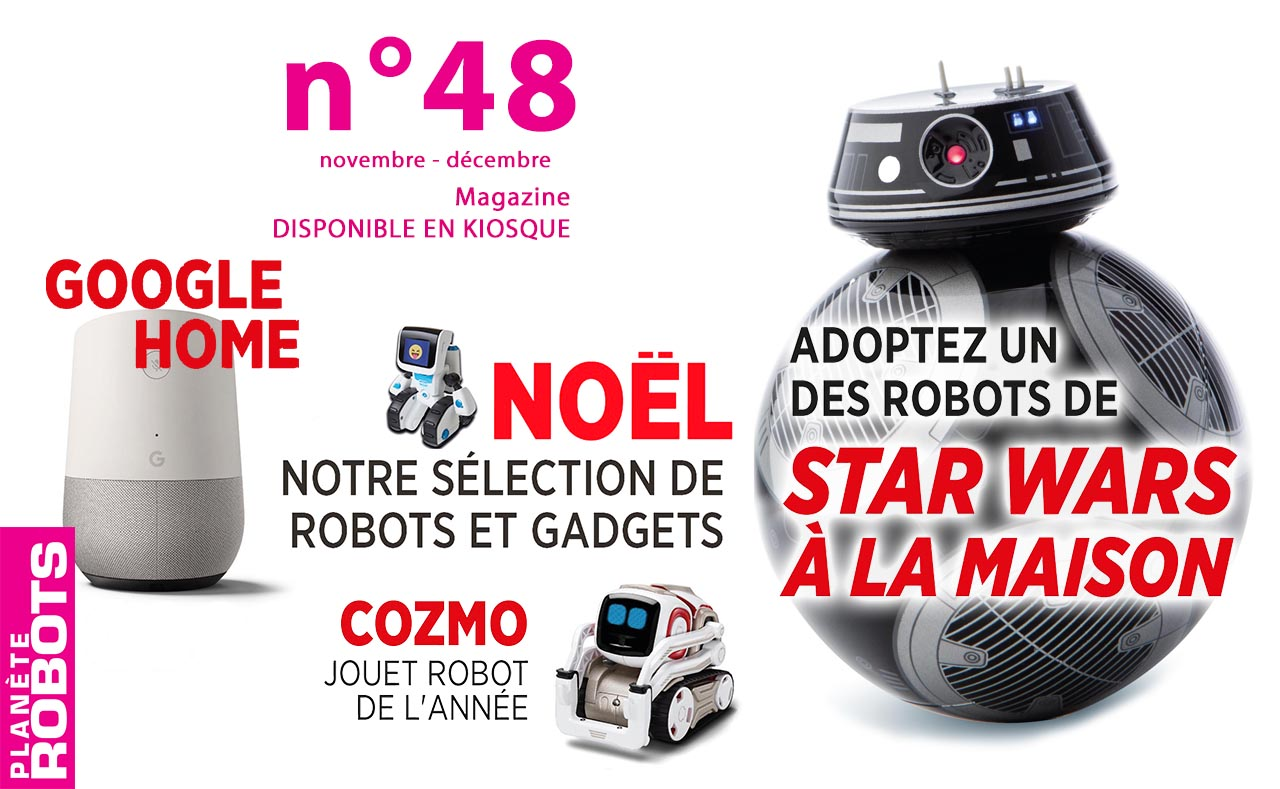 Le N° 48 de Planète Robots est sorti