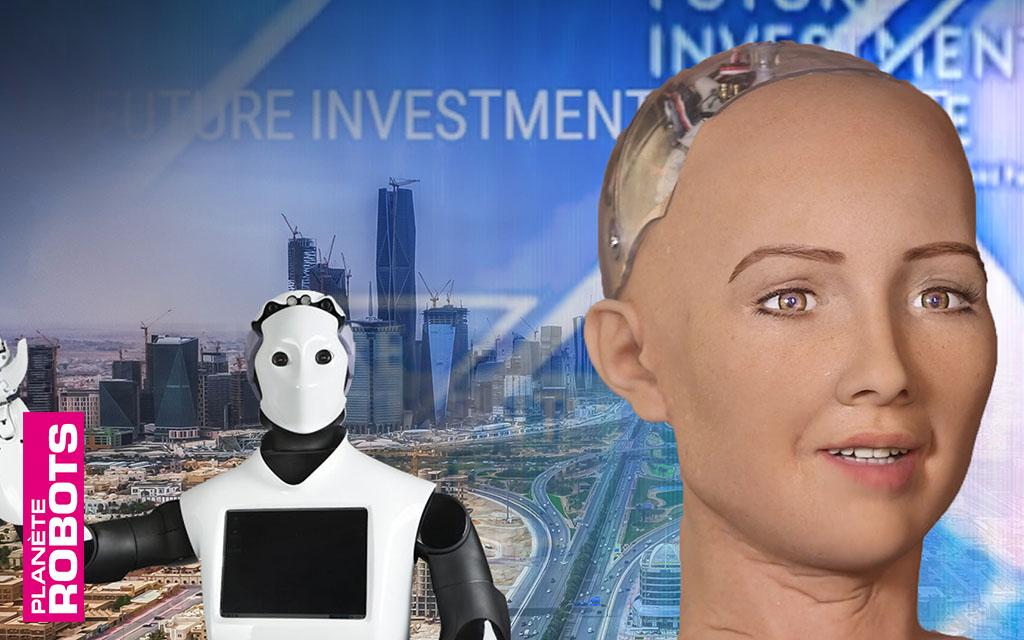 Première naturalisation d'une androïde, en Arabie Saoudite