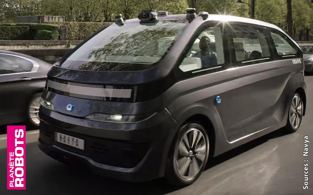 Des taxis autonomes font face aux taxis et aux véhicules avec chauffeur