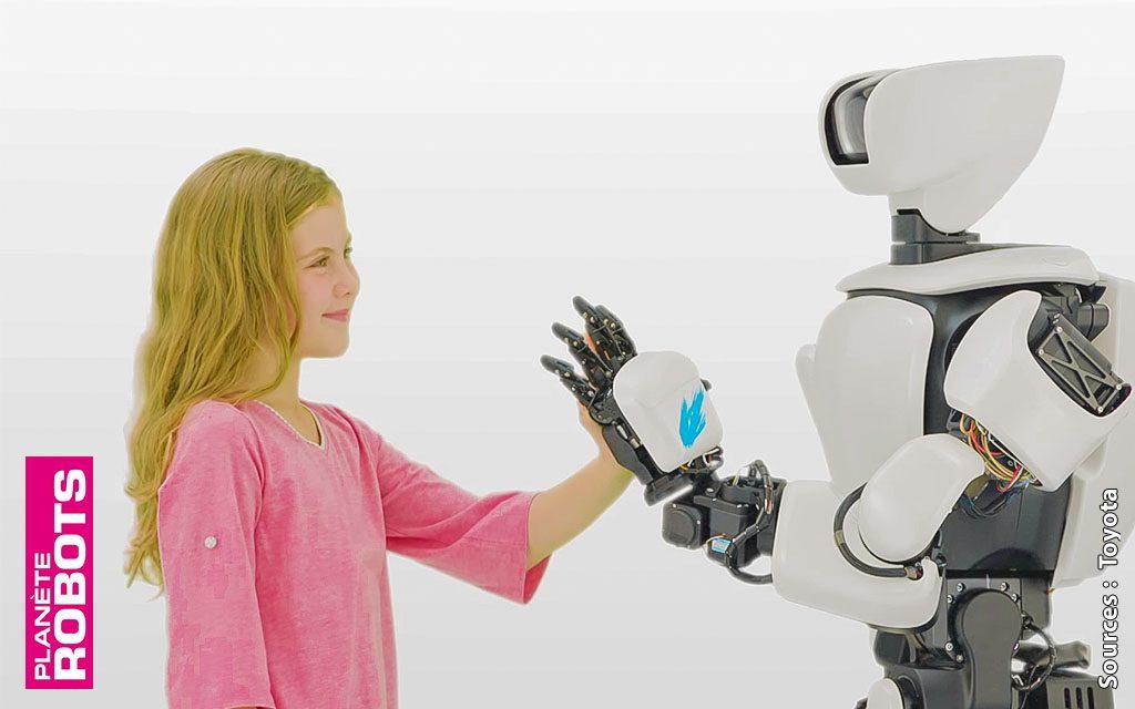 T-HR3 Le robot humanoïde de 3e génération de Toyota.