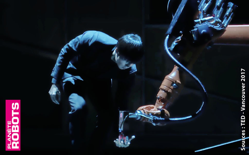 Il fait danser les robots