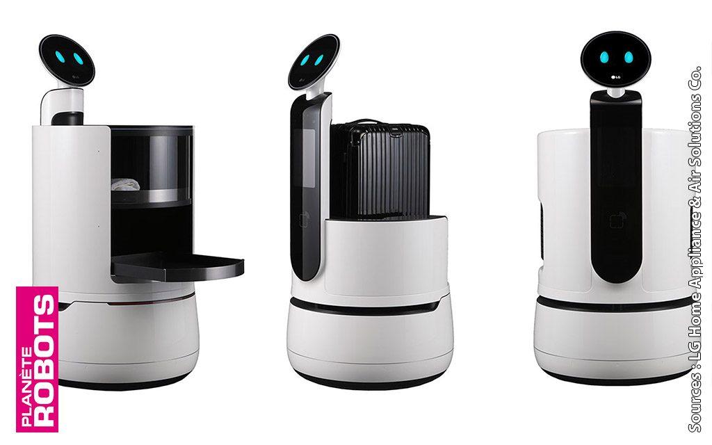 Dans la famille CLOi de LG, je demande les trois nouveaux robots porteurs