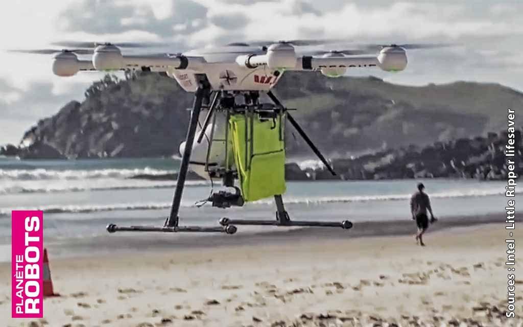 70 secondes pour sauver une vie avec un drone