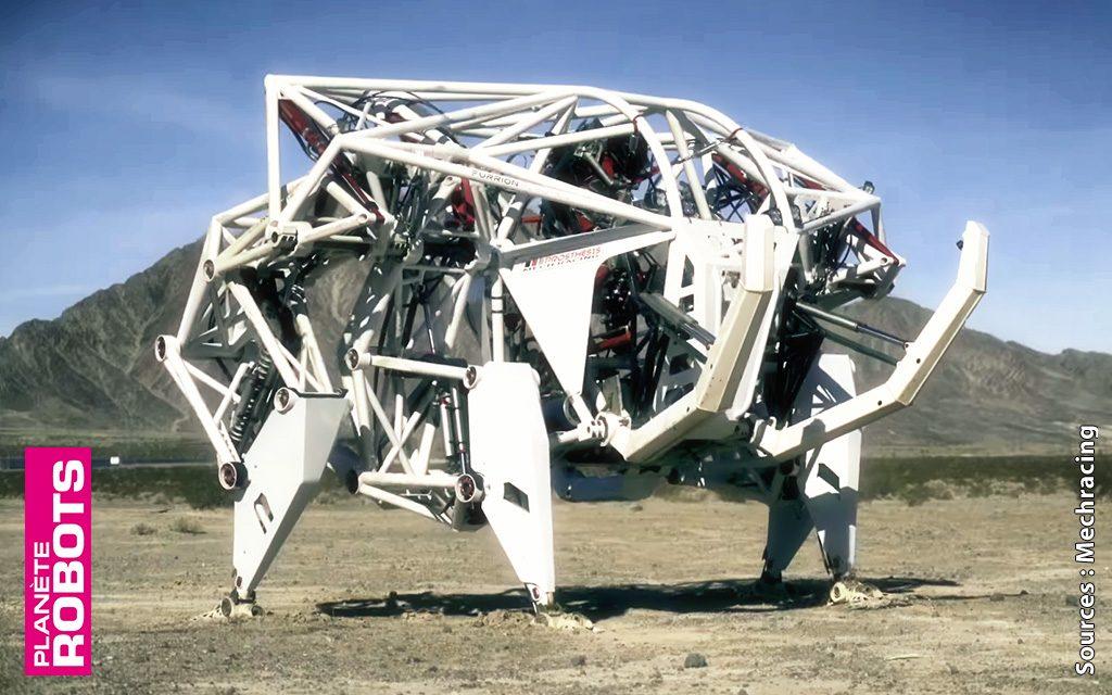 Des robots de course qui gambadent dans le désert
