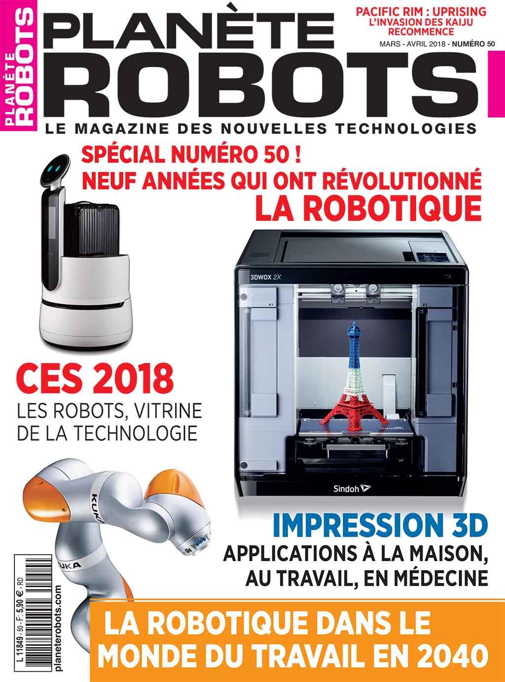 Planète Robots n° 50